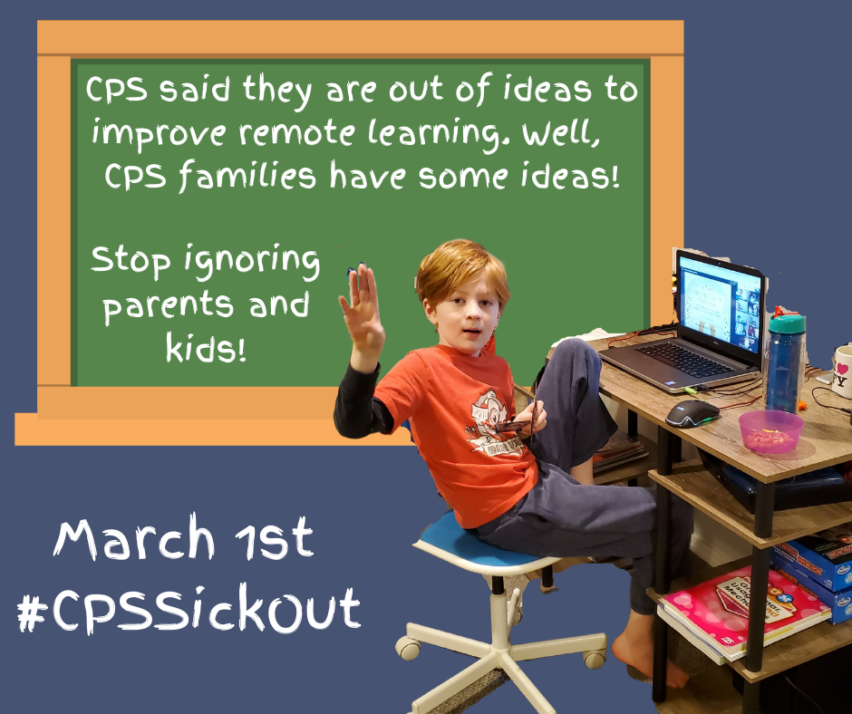 CPS Sick Out Promo